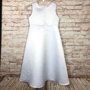 White First christening girls dress